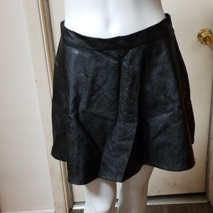 AEO Vegan Faux Leather Skirt